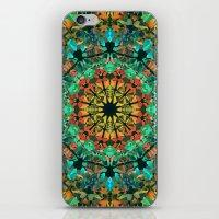 kaleidoscope iPhone & iPod Skins featuring Kaleidoscope by Klara Acel
