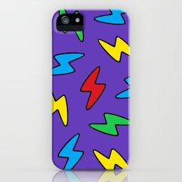 90's Bolt iPhone Case