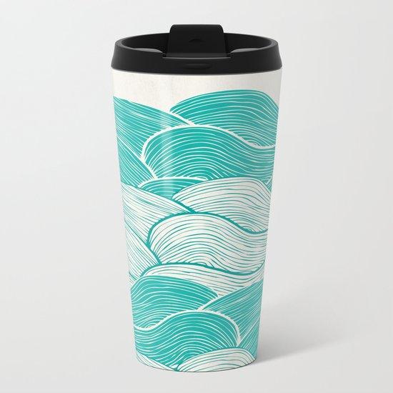 The Calm and Stormy Seas Metal Travel Mug