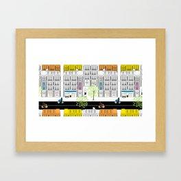Boulevard Haussmann Framed Art Print