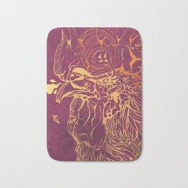 El Briguento - The Fighter (Golden) Bath Mat