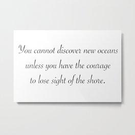 New Oceans Metal Print