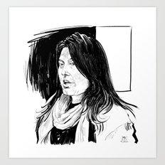 Sharmeen Obaid-Chinoy (filmmaker) Art Print