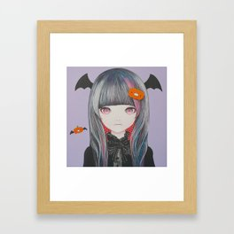 Pumpkin Nightmare Framed Art Print