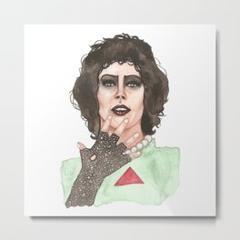 Rocky Horror Picture Show Dr Frank N Furter Metal Print