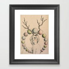 Dazed & Confused Framed Art Print