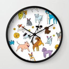 Dog Heaven Wall Clock