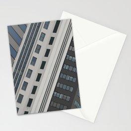 Singapur Skyline Glas Window Front Stationery Cards