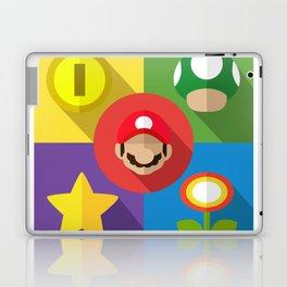 Super Mario flat Laptop & iPad Skin