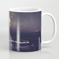 fibonacci Mugs featuring Fibonacci Sequence under the Stars by Shaun Lowe