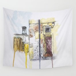 Back Alley Wall Tapestry