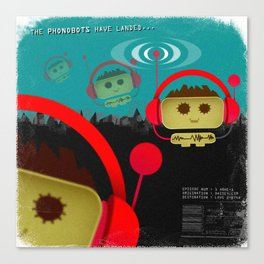 Phonobot - 01 Canvas Print