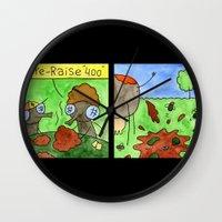 poker Wall Clocks featuring Poker by Bakal Evgeny
