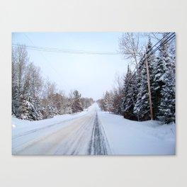 what lies ahead Canvas Print