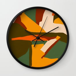 A New Way Of Seeing Abstract Landscape Wall Clock