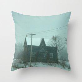 The Farm Throw Pillow