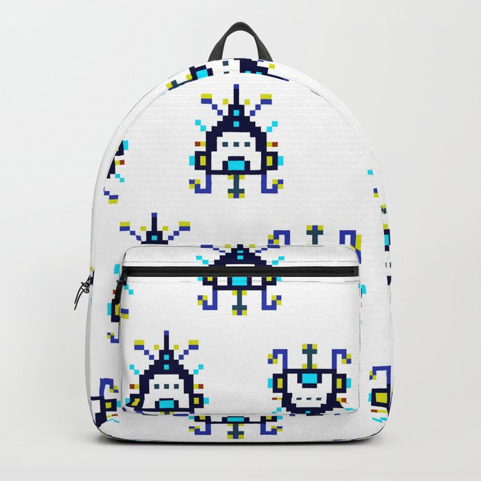 Alien Ship - Pattern Backpack