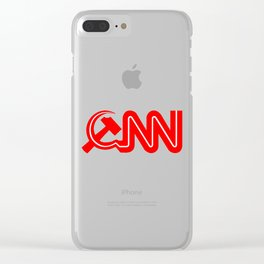 Communist News Network Clear iPhone Case
