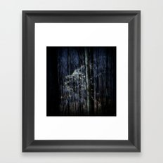 Late Fall In The Forest Framed Art Print