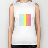 polaroid Biker Tanks featuring Polaroid by Good Sense