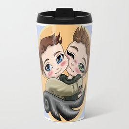 Destiel Hug Travel Mug