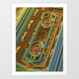 Archway Tangles Art Print