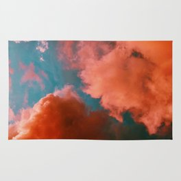 The Pink Clouds (Color) Rug
