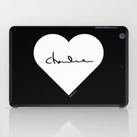 charlie iPad Cases featuring Charlie by ♥ Charlie