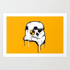 Stencil Trooper - Star Wars Art Print