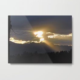 sunset2 Metal Print