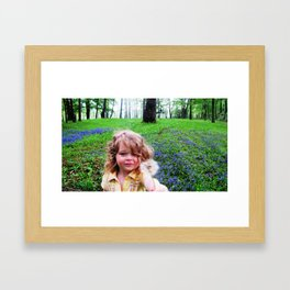 Make A Wish! Framed Art Print