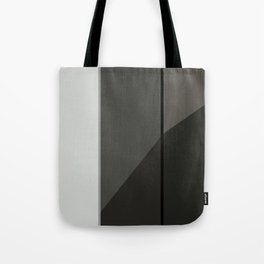 Black and White Geometric Tote Bag