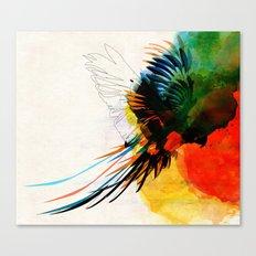 macaw Canvas Print