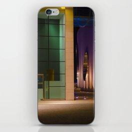 Graphic city architecture iPhone Skin