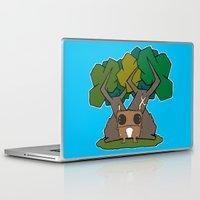 pee wee Laptop & iPad Skins featuring Wee Beasty by Cornelius
