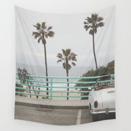 Cruisin Manhattan Beach Wall Tapestry