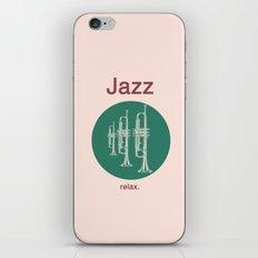 Jazz Relax iPhone & iPod Skin