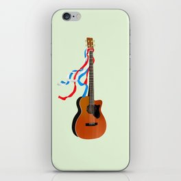 Acoustic Bass iPhone Skin