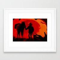 django Framed Art Prints featuring Django by IOSQ