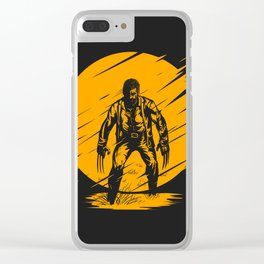 Yellow Logan Clear iPhone Case