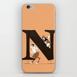 Nina & Liminal iPhone Skin
