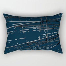 Neon Disco #6 Rectangular Pillow