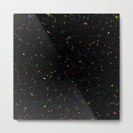 Splatter of colors Metal Print