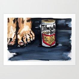 milwaukee best Art Print