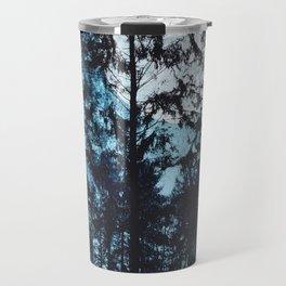 Moon Through Trees Travel Mug