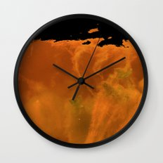 Midnight Lake Wall Clock
