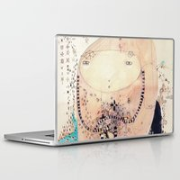 piglet Laptop & iPad Skins featuring Thinking  by Nayoun Kim