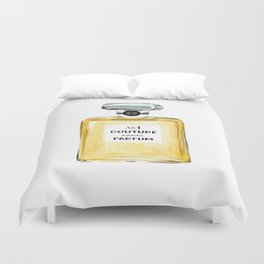 Yellow Parfum Duvet Cover