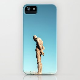 Lonely old man iPhone Case
