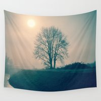 buddhism Wall Tapestries featuring Experience by Schwebewesen • Romina Lutz
